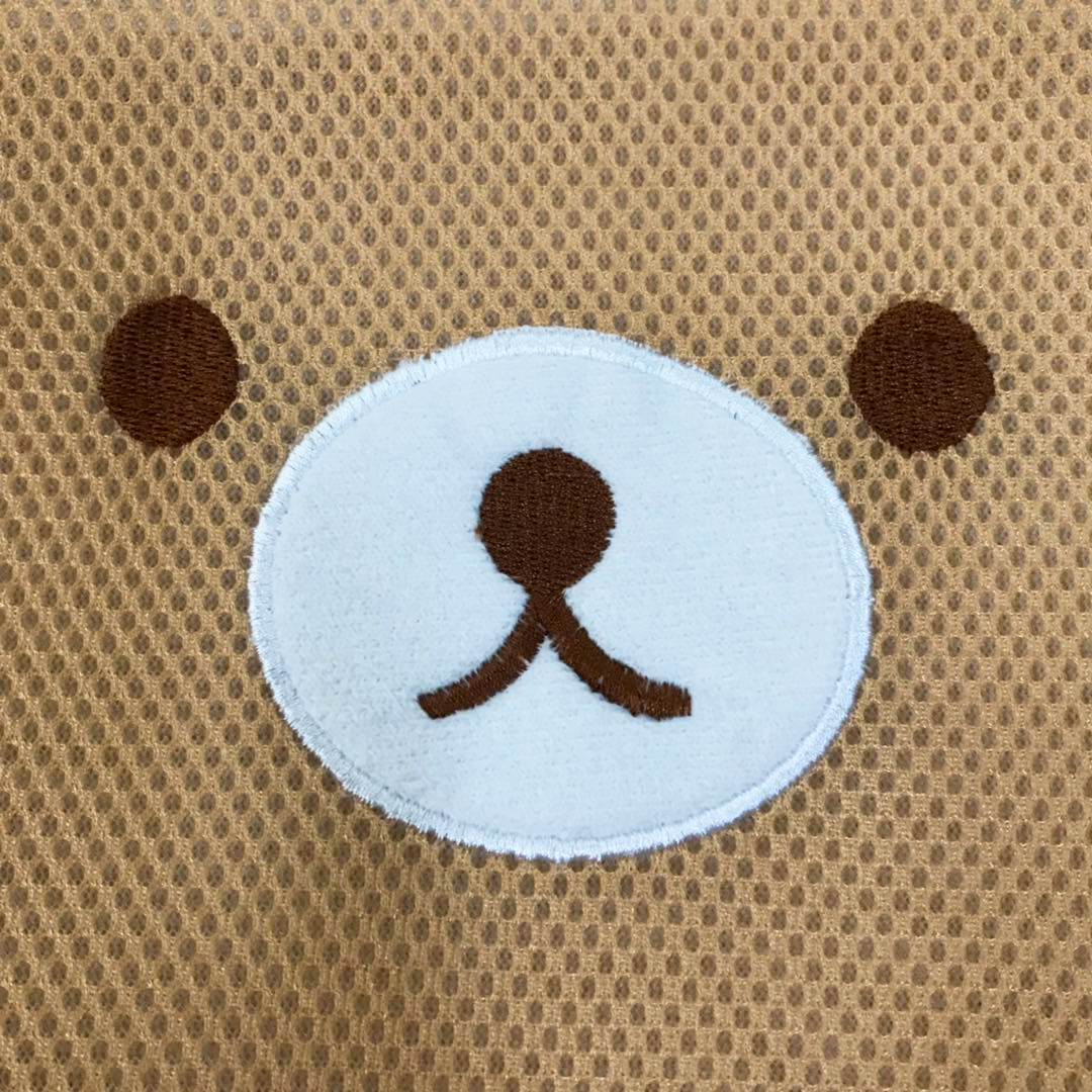 Bear Embroidery Sandwich Laundry Bags